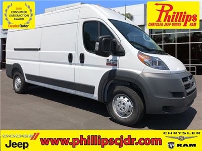 2018 ProMaster 2500 High Roof FWD,  Adrian Steel General Service Upfitted Cargo Van #181024 - photo 1