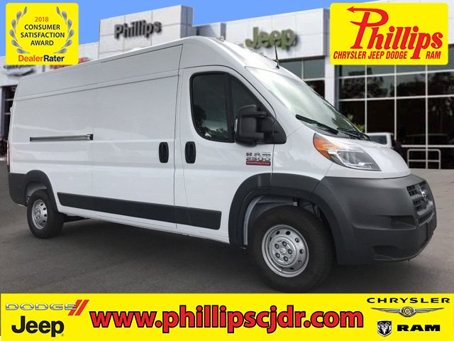 2018 ProMaster 2500 High Roof FWD,  Upfitted Cargo Van #181442 - photo 1