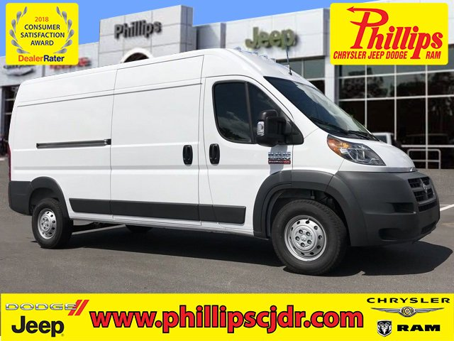 2018 ProMaster 2500 High Roof FWD,  Empty Cargo Van #181524 - photo 1