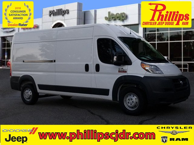 2018 ProMaster 2500 High Roof FWD,  Empty Cargo Van #181622 - photo 1