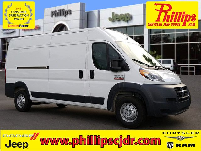 2018 ProMaster 2500 High Roof FWD,  Empty Cargo Van #181624 - photo 1