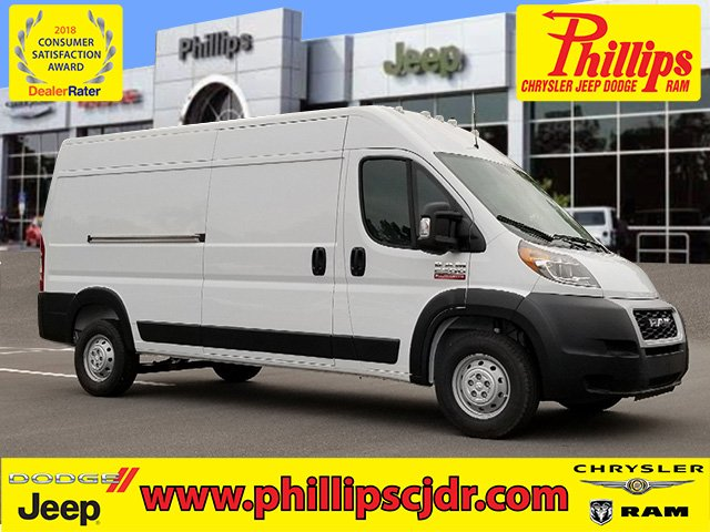 2019 ProMaster 2500 High Roof FWD,  Empty Cargo Van #190339 - photo 1