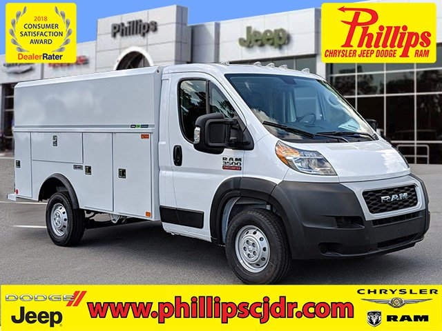 2019 ProMaster 3500 Standard Roof FWD,  Reading Service Utility Van #190856 - photo 1