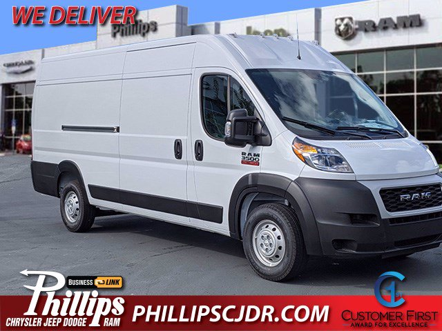 2020 Ram ProMaster 3500 High Roof FWD, Empty Cargo Van #201325 - photo 1