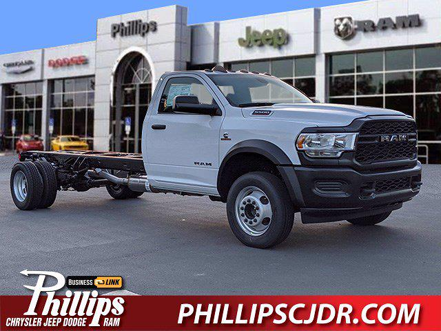 2021 Ram 5500 Regular Cab DRW 4x4, Cab Chassis #210257 - photo 1