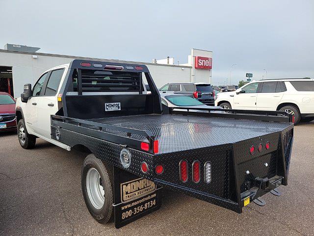 2021 Sierra 3500 Crew Cab 4x4,  Monroe Truck Equipment Platform Body #MF251806 - photo 2