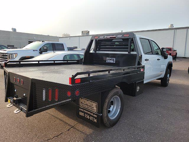 2021 Sierra 3500 Crew Cab 4x4,  Monroe Truck Equipment Platform Body #MF251806 - photo 3