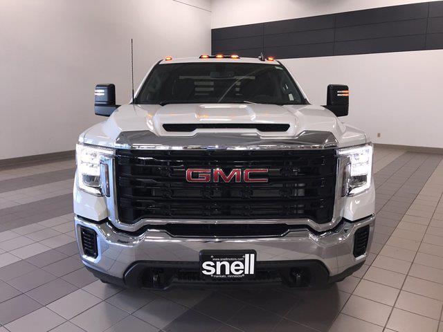 2021 Sierra 3500 Crew Cab 4x4,  Monroe Truck Equipment Platform Body #MF251806 - photo 10