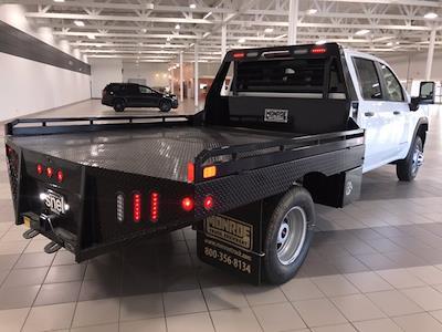 2021 Sierra 3500 Crew Cab 4x4,  Monroe Truck Equipment Platform Body #MF251806 - photo 7