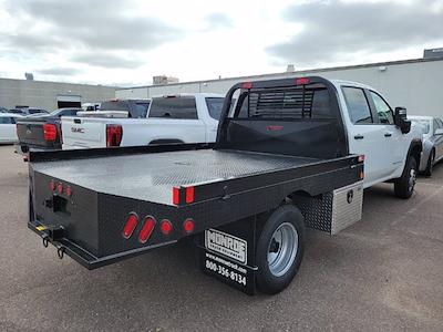 2021 Sierra 3500 Crew Cab 4x4,  Hillsboro Platform Body #MF285300 - photo 2