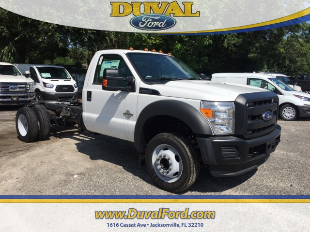 2016 F-550 Regular Cab DRW, Cab Chassis #GED28249 - photo 1