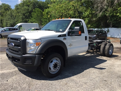 2016 F-550 Regular Cab DRW, Cab Chassis #GED28249 - photo 8