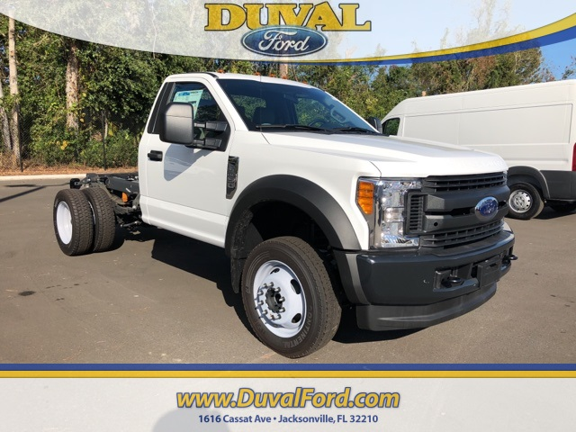 2017 F-450 Regular Cab DRW 4x4 Cab Chassis #HED11624 - photo 1