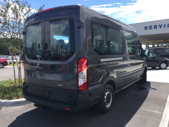 2017 Transit 350 Medium Roof Passenger Wagon #HKB06436 - photo 2