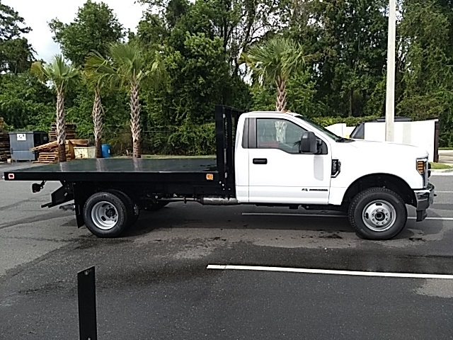 2018 F-350 Regular Cab DRW 4x4,  Platform Body #JEB69392 - photo 3