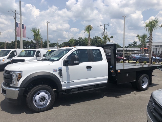 2018 F-550 Super Cab DRW 4x4,  Knapheide Platform Body #JEB85166 - photo 6