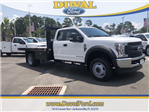 2018 F-550 Super Cab DRW 4x4,  Knapheide Platform Body #JEB85166 - photo 1