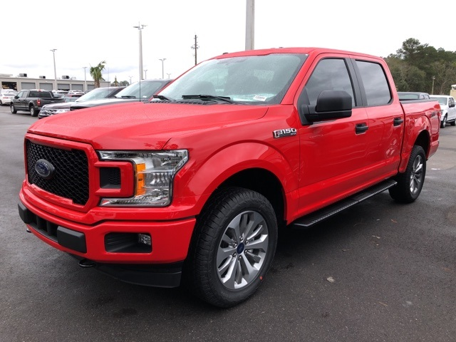 2018 F-150 SuperCrew Cab 4x4, Pickup #JFB96066 - photo 4