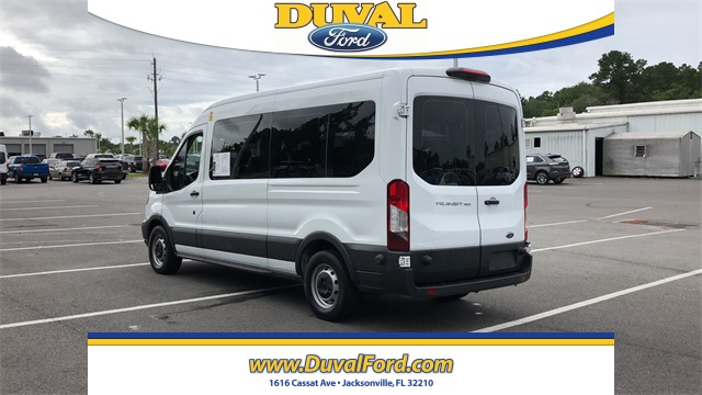 2018 Ford Transit 350 Med Roof 4x2, Passenger Wagon #JKA05090 - photo 3