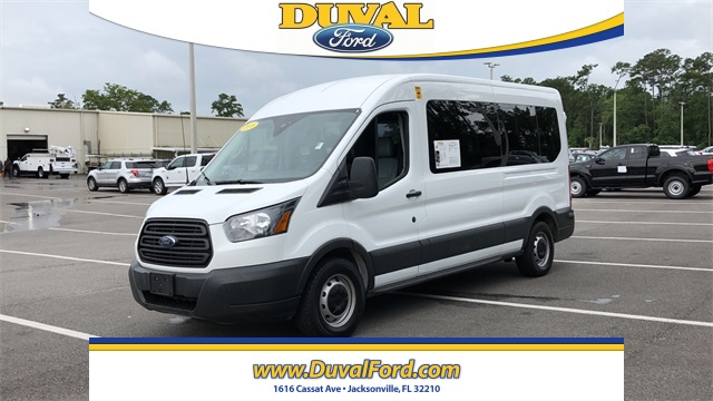 2018 Ford Transit 350 Med Roof 4x2, Passenger Wagon #JKA05090 - photo 6