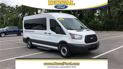 2018 Ford Transit 350 Med Roof 4x2, Passenger Wagon #JKA05090 - photo 22