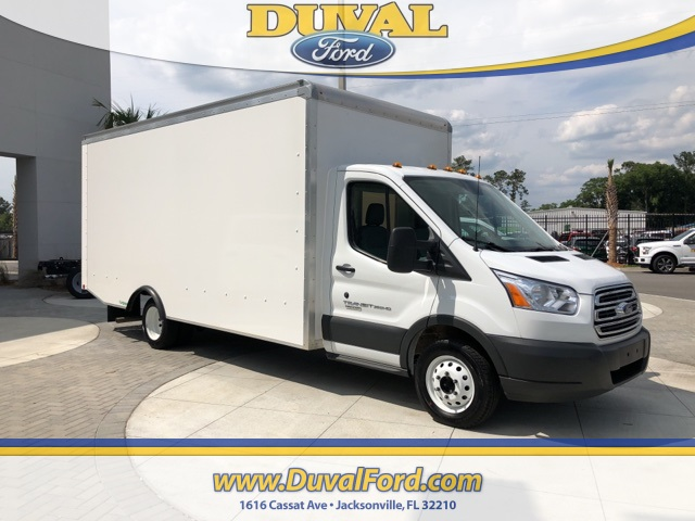 2018 Transit 350 HD DRW 4x2,  Rockport Cargoport Cutaway Van #JKA73662 - photo 1
