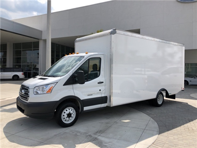 2018 Transit 350 HD DRW 4x2,  Rockport Cargoport Cutaway Van #JKA73662 - photo 4