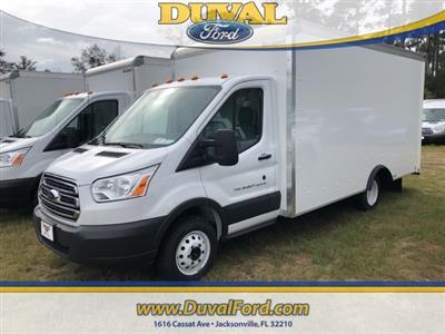2018 Transit 350 HD DRW 4x2,  Rockport Cargoport Cutaway Van #JKB43504 - photo 1