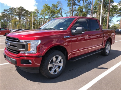 2018 F-150 SuperCrew Cab 4x4,  Pickup #JKD64409 - photo 4