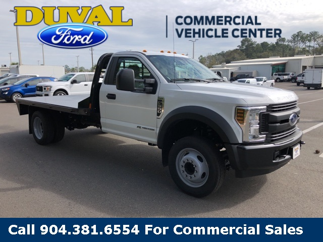 2019 F-550 Regular Cab DRW 4x2,  CM Truck Beds Platform Body #KDA11179 - photo 1