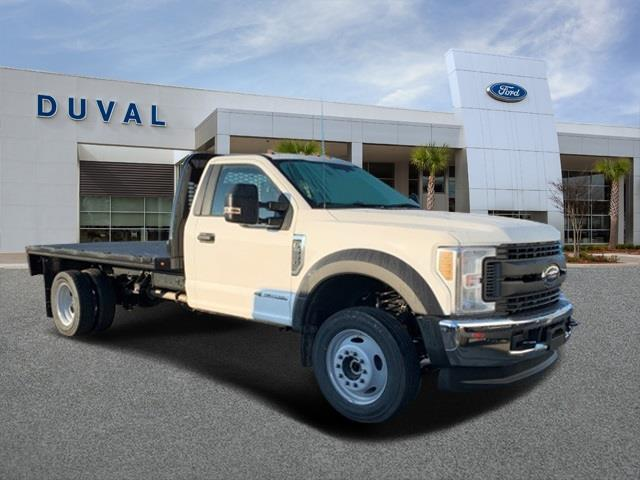 2019 F-550 Regular Cab DRW 4x4, Knapheide Platform Body #KDA27196 - photo 1