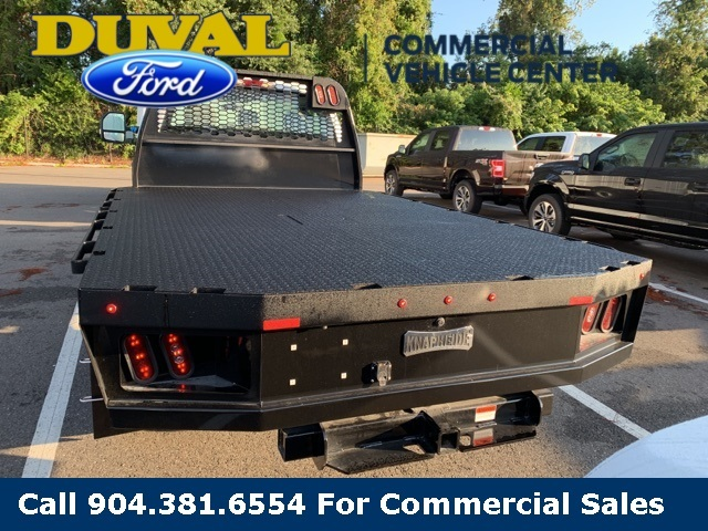 2019 Ford F-550 Regular Cab DRW 4x4, Knapheide Platform Body #KDA27196 - photo 1