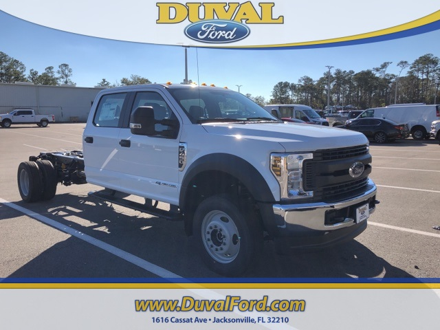 2019 F-450 Crew Cab DRW 4x4,  Cab Chassis #KED55476 - photo 1