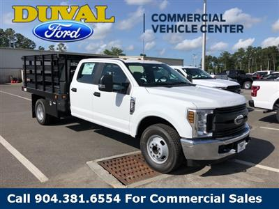 2019 F-350 Crew Cab DRW 4x2,  Knapheide Value-Master X Stake Bed #KEE28562 - photo 1