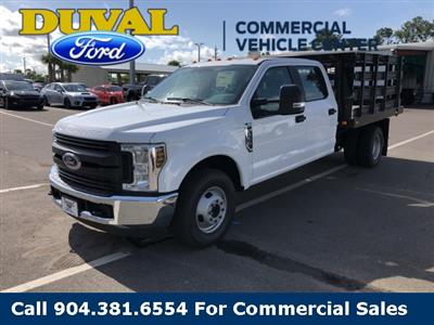 2019 F-350 Crew Cab DRW 4x2,  Knapheide Value-Master X Stake Bed #KEE28562 - photo 4