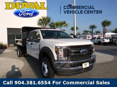 2019 F-550 Crew Cab DRW 4x4, Knapheide Rigid Side Dump Body #KEF24796 - photo 1