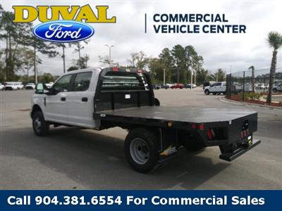 2019 F-350 Crew Cab DRW 4x4, Rayside Truck & Trailer Platform Body #KEF24858 - photo 6