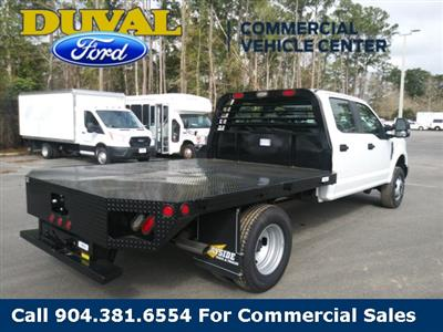 2019 F-350 Crew Cab DRW 4x4, Rayside Truck & Trailer Platform Body #KEF24858 - photo 2