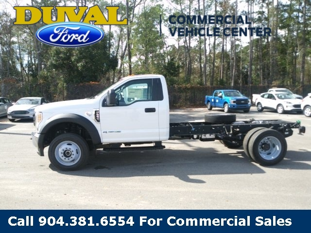 2019 Ford F-550 Regular Cab DRW 4x4, Cab Chassis #KEF60339 - photo 5