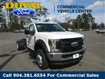 2019 Ford F-550 Regular Cab DRW 4x4, Cab Chassis #KEF60339 - photo 1