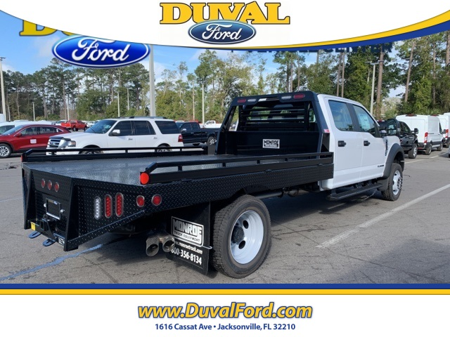 2019 F-550 Crew Cab DRW 4x4, Hillsboro Platform Body #KEG58746 - photo 1