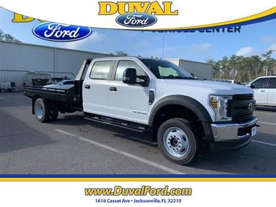 2019 F-550 Crew Cab DRW 4x4, Hillsboro GII Steel Platform Body #KEG58746 - photo 1