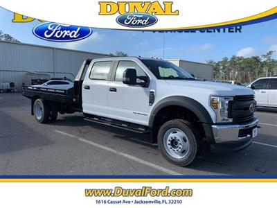 2019 F-550 Crew Cab DRW 4x4, Hillsboro GII Steel Platform Body #KEG58746 - photo 3