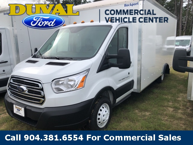 2019 Transit 350 HD DRW 4x2,  Rockport Cutaway Van #KKA02869 - photo 1