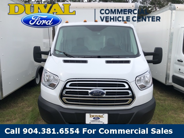 2019 Transit 350 HD DRW 4x2,  Rockport Cargoport Cutaway Van #KKA02869 - photo 3