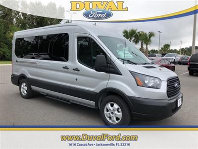 2019 Transit 350 Medium Roof 4x2,  Passenger Wagon #KKA04334 - photo 1