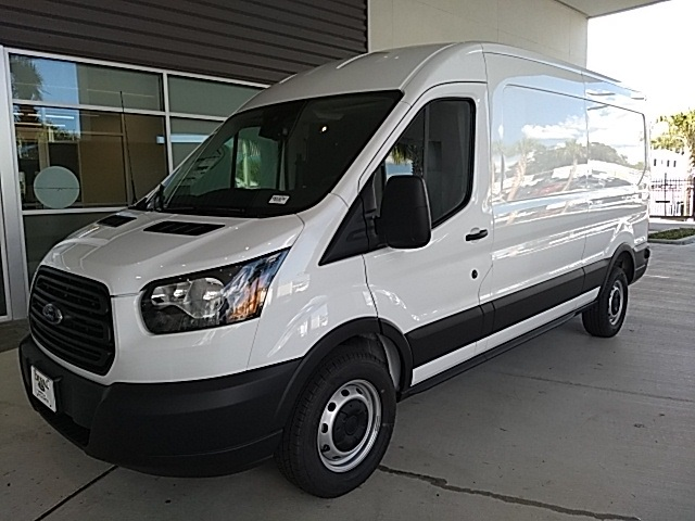 2019 Transit 250 Med Roof 4x2,  Empty Cargo Van #KKA10752 - photo 4