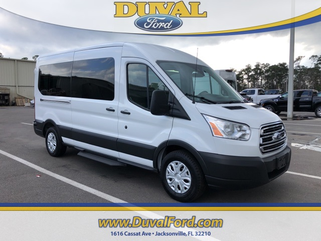 2019 Transit 350 Med Roof 4x2,  Passenger Wagon #KKA30119 - photo 1