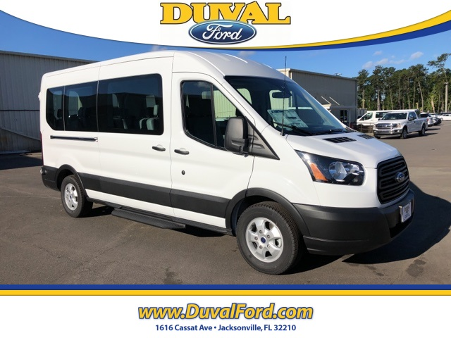 2019 Transit 350 Med Roof 4x2,  Passenger Wagon #KKA69495 - photo 1