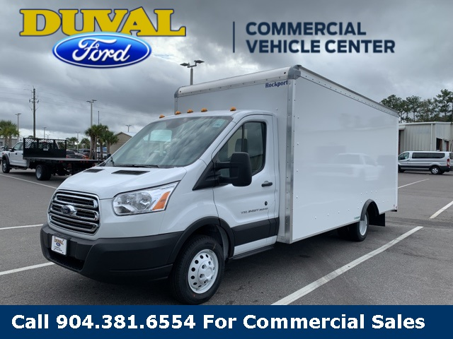 2019 Transit 350 HD DRW 4x2, Rockport Cargoport Cutaway Van #KKB90892 - photo 5